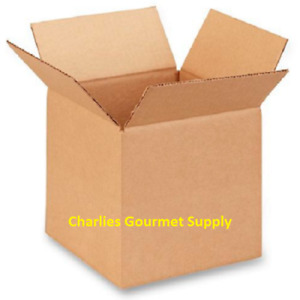 Lot Of 25 Uline 8x8x8 275 Lb H d Corrugated Shipping Mailing Boxes Free Ship