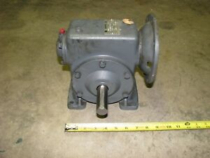 Winsmith Gear Head Reduction Reducer For Electric Motor 4mct 15 1 Ratio