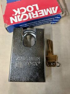 Keyed Padlock different 2 1 2 w American Lock A748