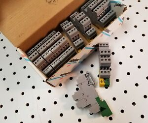 Entrelec Terminal Block D4 6_lntp Lot 10pc