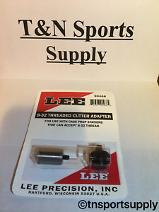 LEE Case Trimmer Adapter For Any Case Prep Center 832 Thread 90468 Lyman RCBS