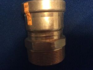 Viega Propress 3 Inch Male Adapter Viega New Copper Free Shipping