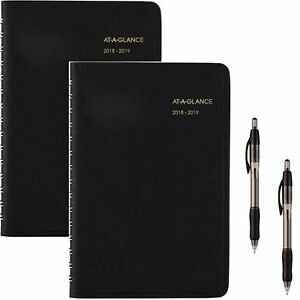 At a glance 2018 2019 Academic Year Daily Appointment Book planner Small 4 7