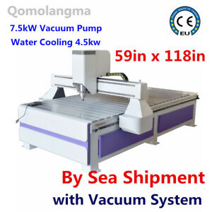 3axis Usb Port 59in X 118in 1530 Multifunctional Cnc Router With Vacuum System