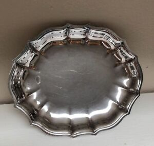 Vintage F B Rogers Silver Co Candy Dish Silverplate