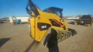 2008 Caterpillar 287c Cab A c Track Skid Steer Loader 2376hrs New