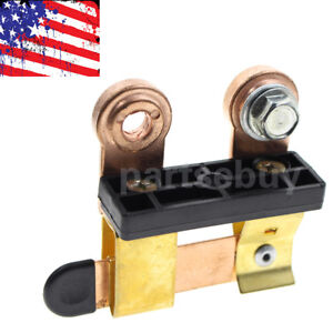 Side Post Battery Disconnect Knife Blade Shut Cut Off Switch Heavy Duty 12 24v
