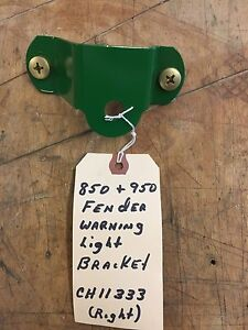 John Deere 850 950 Tractor Fender Warning Light Bracket Right