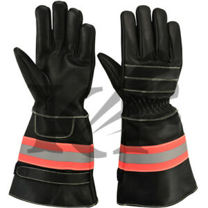 Fire Fighter Gloves Rescue Gloves Protective Gloves 4 Pairs In One Lot