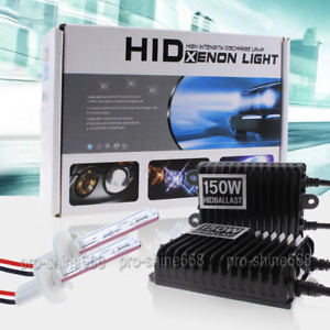 150w High Power Hid Xenon Conversion Kit H7 H11 9006 9005 For 2004 2016 Mazda 3