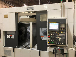 Takisawa Tt 2600g Twin Spindle With Gantry Turning Center