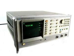 Agilent Keysight Hewlett Packard Hp 8756a Scalar Network Analyzer 10 Mhz 60 Ghz