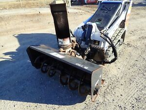Bobcat Sb150 48 Snowblower Attachment For Skid Steers 2 Stage Electric Chute