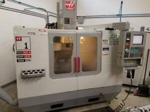 Used 2004 Haas Vf 1 Cnc Vertical Machining Center 20x16 Mill Machine Usb Rigid