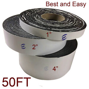 Ewt Asphalt Tarmac Packing Lot Joint Crack Sealer Repair Filler Tape 50ft X 1in