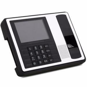 500dpi 4 3 Tft Fingerprint Time Attendance Employee Digital Electronic Reader