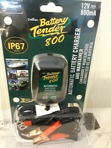 Battery Tender 800 12v 800ma Ip67 Automatic Battery Charger
