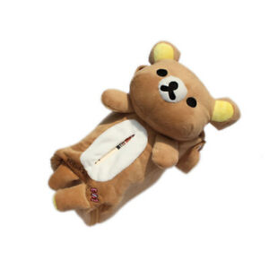 Car Seat Rectangle Tissue Cute Bear Box Cover Home Decoration Paper Towel Holder