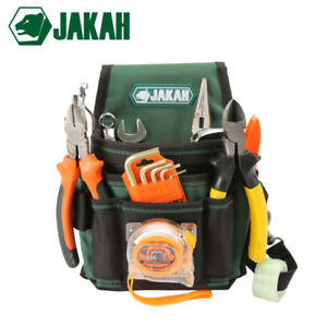 Jakah 2018 Electrician Waist Tool Bag Belt Tool Pouch Utility Kits Holder Wit
