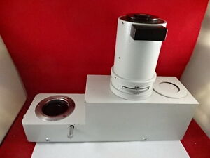 Huge Leitz Wetzlar Germany Vario Head Orthoplan Microscope Optics As I
