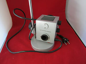 Microscope Part Leitz Wetzlar Germany Lamp Illuminator Ii Bin 4