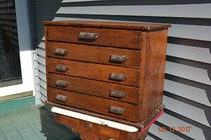 1888 General Store Hardware Cabinet Display Little Giant Wells Bros Greenfieldma