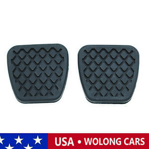 2pcs Brake Clutch Pedal Pad Rubber Covers Fits For Honda Acura 46545 sh3 000