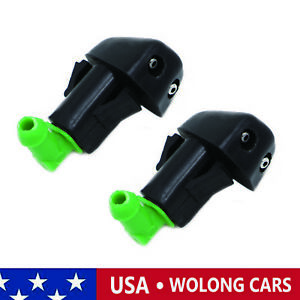 2pcs Windshield Washer Wiper Spray Nozzle Sprayer Fit For 1998 2002 Honda Accord