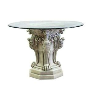 Lion Leg Table Base 4 Legs Architectural Tables Table Bases