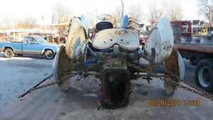 Ford 601 2000 4 Cyl Tractor Differential Assm Lifttop linkage fenders Etc