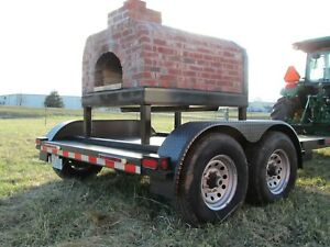 Wood Fired Portable Pizza Oven