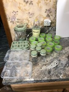 Magic Bullet Baby Bullet Lot Baby Food Making System
