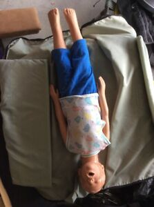 Simulaids Child Cpr Full Body Manikin Toddler Caucasian With Case