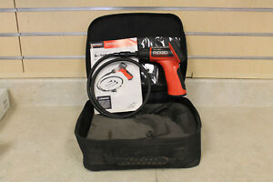 Ridgid Seesnake Micro Inspection Camera W Case Pre owned Free Shipping