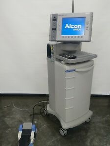 Alcon Surgical 20000 Legacy Phaco Emulsifier Aspirator W foot Switch And Remote