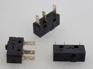 100x Pm2 111 Micro Switch Spdt 250v 5a High Durable Mini Push Button Actuator