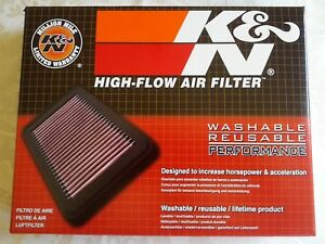K n High Flow Performance Washable Replacement Air Filter 33 2399 Brand New