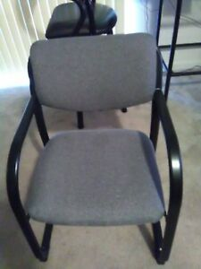 Set Of 2 Conference Reception Office Arm Chairs Local Pick up Only