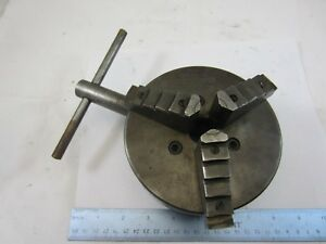 5 1 2 Skinner 3 Jaw Combination Lathe Chuck 1 1 2 X 8 Tpi No 604 j