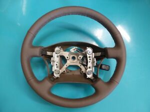 Toyota Land Cruiser 80 Series Lexus Lx450 Padded Steering Wheel New Leather