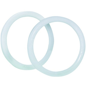 Box Usa Bhaz1082 Locking Ring For Gallon Paint Can White Pack Of 100