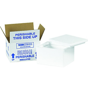 Box Usa B201c Insulated Shipping Kits 6 X 4 1 2 X 3 White 24 case Pack Of