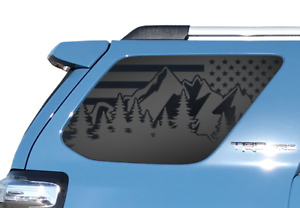 Fits Toyota 4runner Usa Flag Outdoor Scene Decal 2010 2020 Trd Pro Windows Tf23m