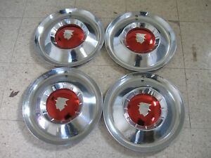 1954 Mercury Hubcaps Wheel Covers Montclair Monterey Fomoco