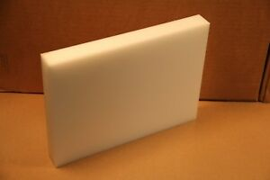 1 25 Natural Delrin Block Acetal Sheet Stock 8 x11 Cnc Plastic 4218