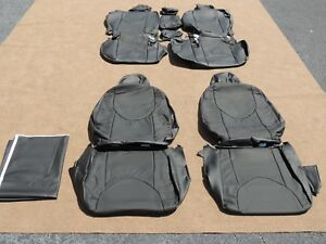 Leather Seat Covers Interior Upholstery Fits Toyota Rav4 2012 Black A118