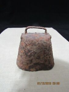 Primitive Hand Forged Antique Cow Bell