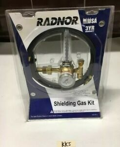 New Radnor 355 ar 58010 Shielding Gas Kit Flow Meter W 10 Hose 3000 Psig