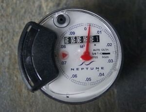 New Old Stock Neptune Auto G65n Register Head 5 8 T 10 Water Meter
