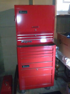Snap On Tool Set And Tool Boxes